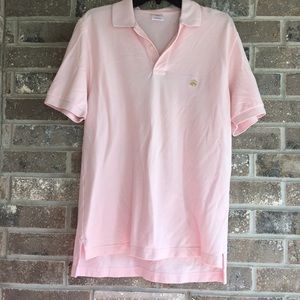 BROOKS BROTHERS 346 Polo Men Pink Casual Shirt S